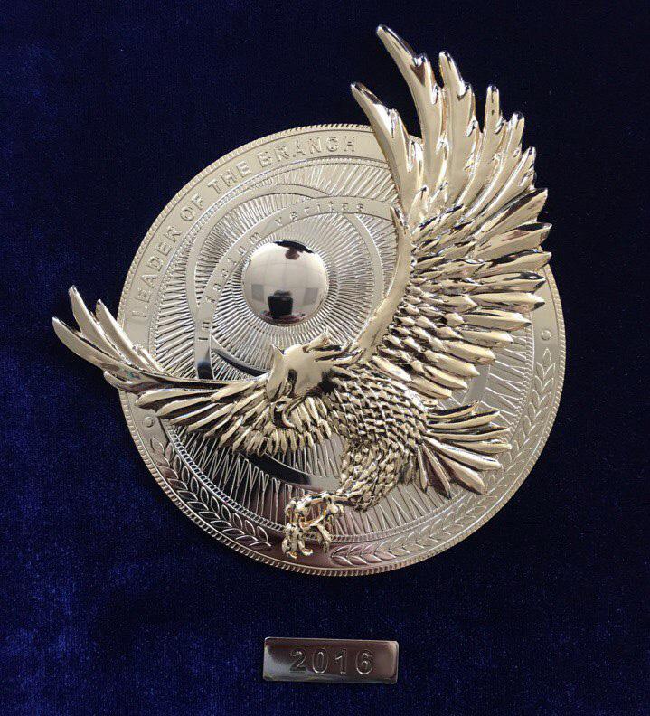 Компания «SUN OIL» получила Международную награду лидера отрасли!