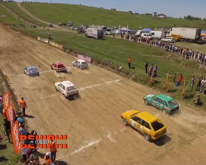Чемпіонат України з автокросу відбувся у Черкаській Лозовій